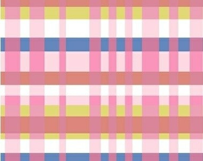 Perfect Plaid in Pink from Penelope by Annabel Wrigley for Windham Fabrics
