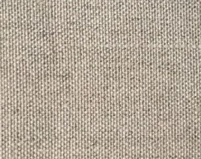 100% Hemp Canvas in Greige by Pickering