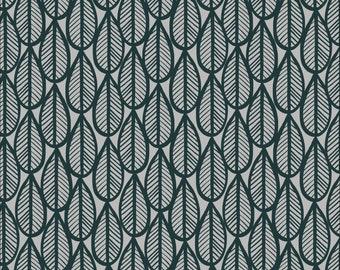 Falling Leaves Matte Laminate in Gray/Black for Cloud 9 Fabric