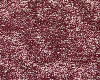 Hemp/Organic Cotton Yarn Dyed Jersey in Port by Pickering