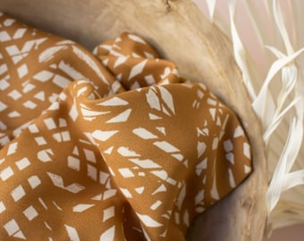 Shade in Ochre Viscose Fabric by Atelier Brunette