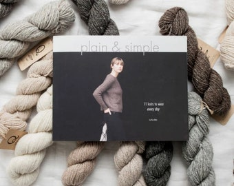 Plain And Simple: 11 Knits To Wear Every Day by Pam Allen for Quince and Co.