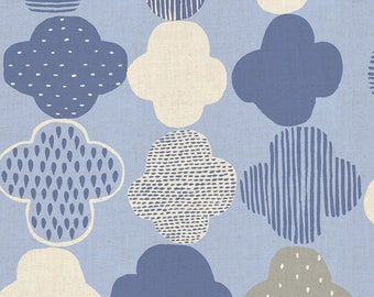 Kumo in Blue from Mori No Tomodachi by Cotton + Steel