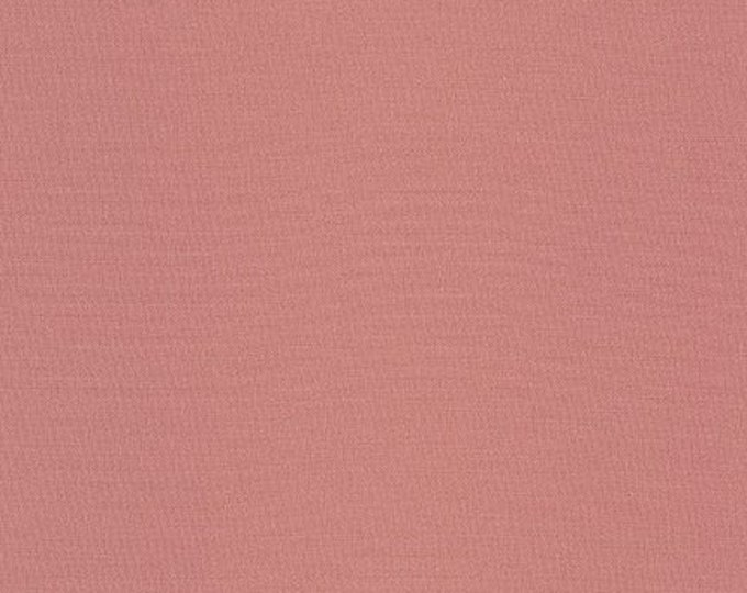 ROSE Kona Cotton by Robert Kaufman