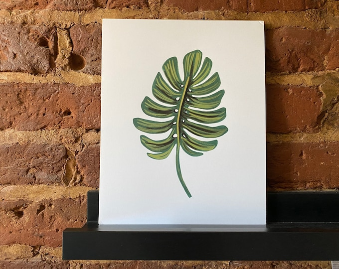 """Monstera Art Print by Anna Bond for Rifle Paper Co. - 8"""" x 10"""""""