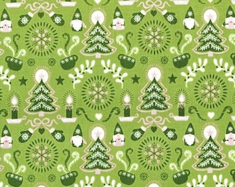 Hygge Christmas - Tonttu in Green by Lewis + Irene