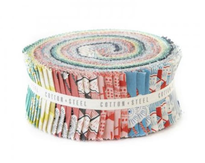 "Jelly Roll - 2.5"" Strips - Kibori Collection for Cotton and Steel"