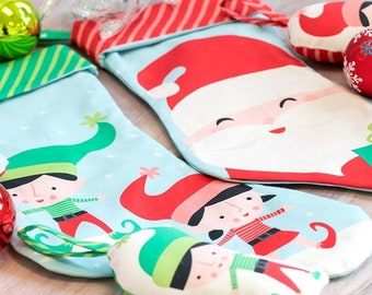 Cut & Sew Stockings and Ornaments