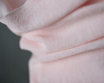 Stretch Cotton Toweling in Fizzy Pink by Merchant & Mills