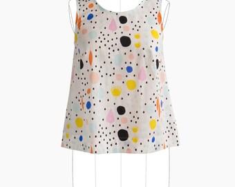 Willow Tank Dress PAPER Sewing Pattern - Grainline Studio