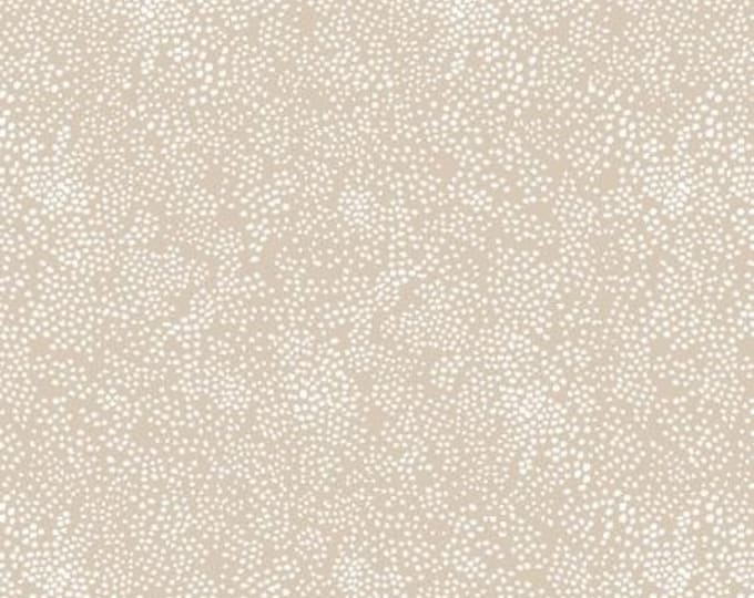 Menagerie Champagne in Linen from the Rifle Paper Co. Basics Collection by Cotton and Steel