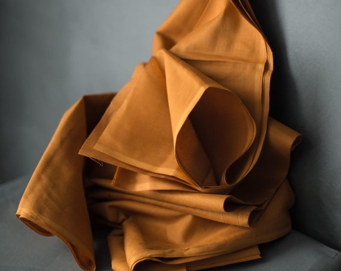 Cotton Muslin in Mustard by Merchant & Mills