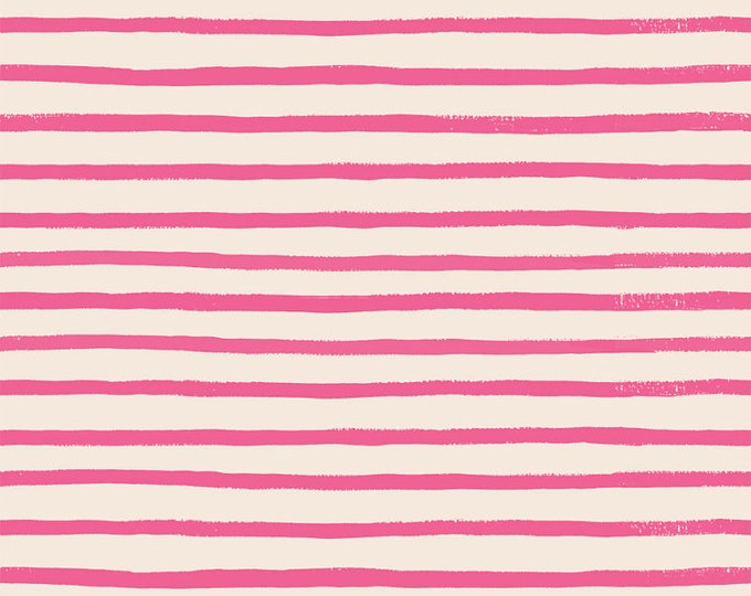 Stripes (pink fabric) from English Garden by Rifle Paper Co.