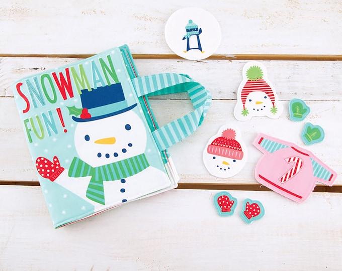 """Snow Day Panel 36"""" x 60"""" by Stacy Iest Hsu for Moda Fabrics"""