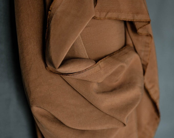 Tencel Twill in Tobacco by Merchant & Mills