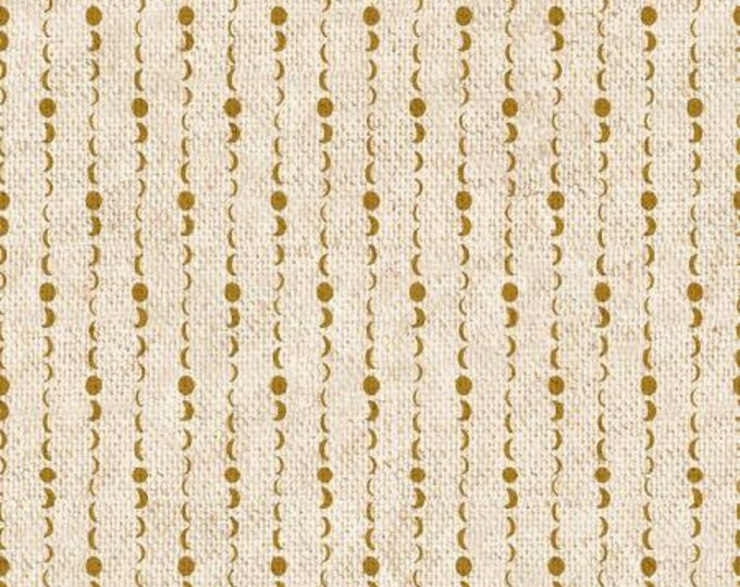 Solstice in Day Break Metallic Canvas from the Dusk till Dawn Collection by Cotton + Steel