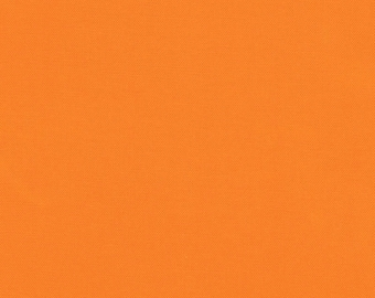 Kona Cotton in Clementine by Robert Kaufman