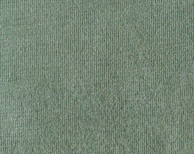 Soy/Organic Cotton/Spandex Jersey in Stone Blue