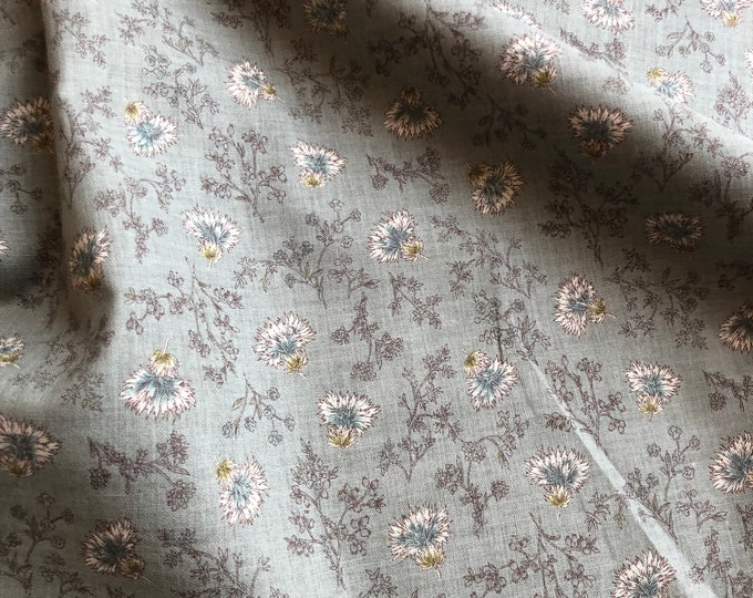 Floral Cotton Poplin by KOKKA