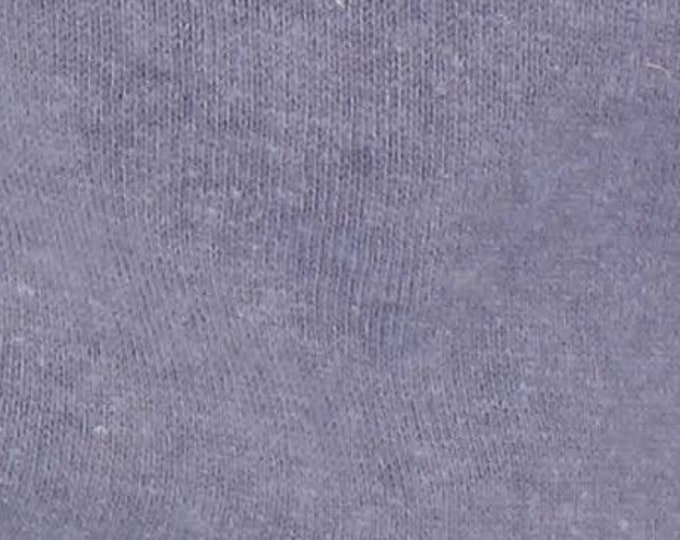 Eco Fleece Hemp Cotton Blend in Lavender Grey