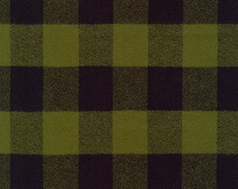 Mammoth Flannel in Olive by Robert Kaufman