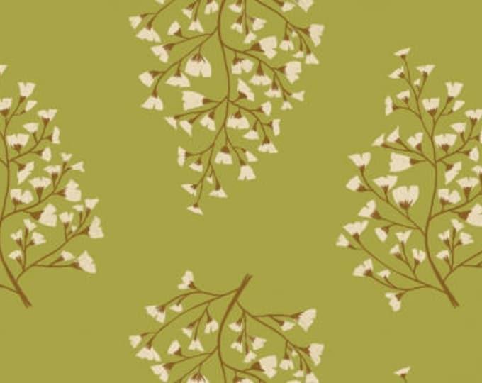 Maiden Hair Fern in Sap- Woodland for Dear Stella Fabrics