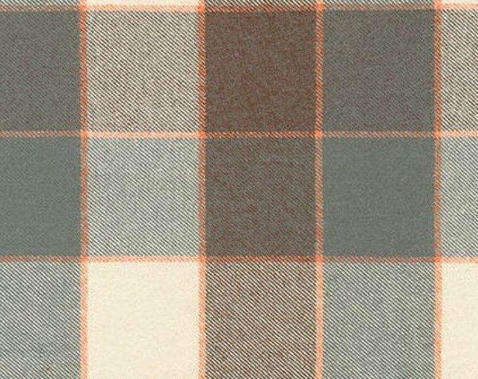 Tahoe Flannel in Grey by Robert Kaufman