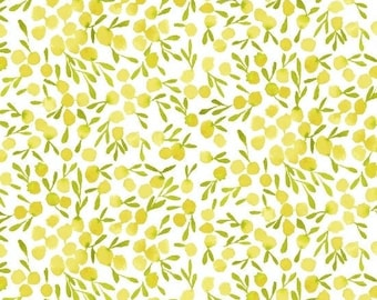 Berries in Citrine from Field Day by Kelly Ventura for Windham Fabrics