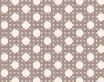 Dots in GREY by Tilda Fabrics