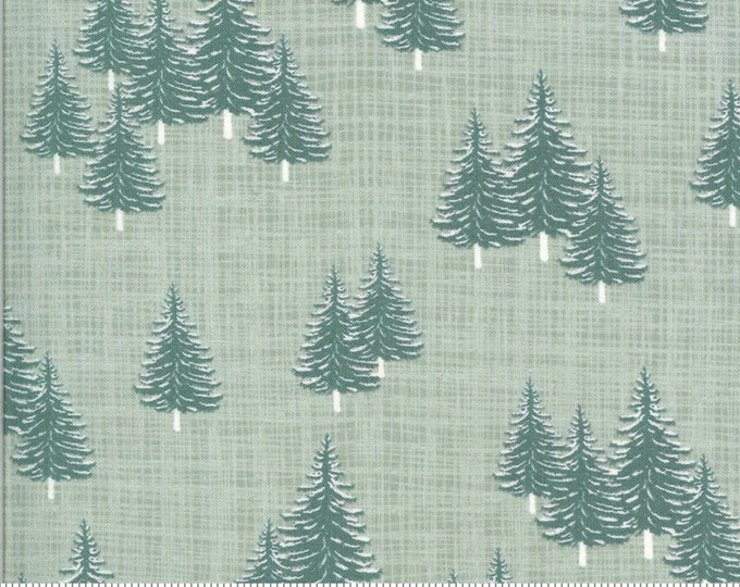Evergreens in Frost from the Juniper Collection by Moda Fabrics