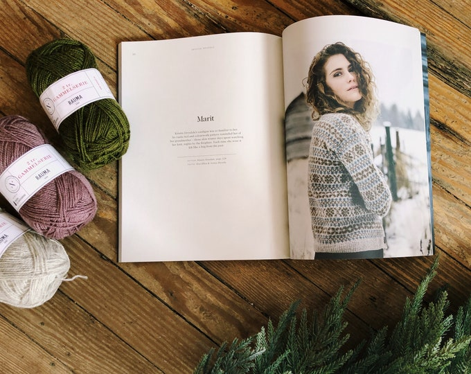 Knit Kit: Marit Cardigan of Laine Magazine #7