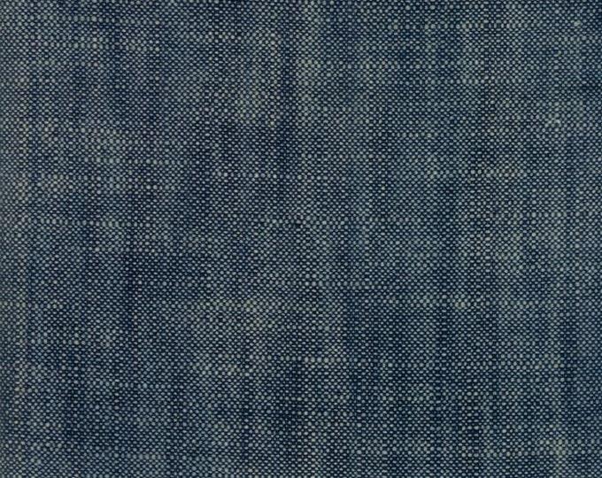 Boro Slub Canvas in Indigo by Moda Fabrics