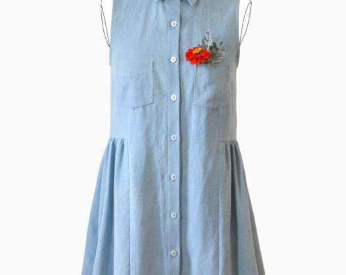 Alder Shirt Dress PAPER Sewing Pattern - Grainline Studio