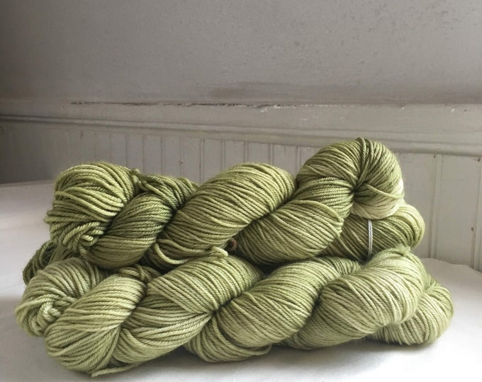 Farmhouse DK in Grass Hopper by Valhalla Farm Fiber