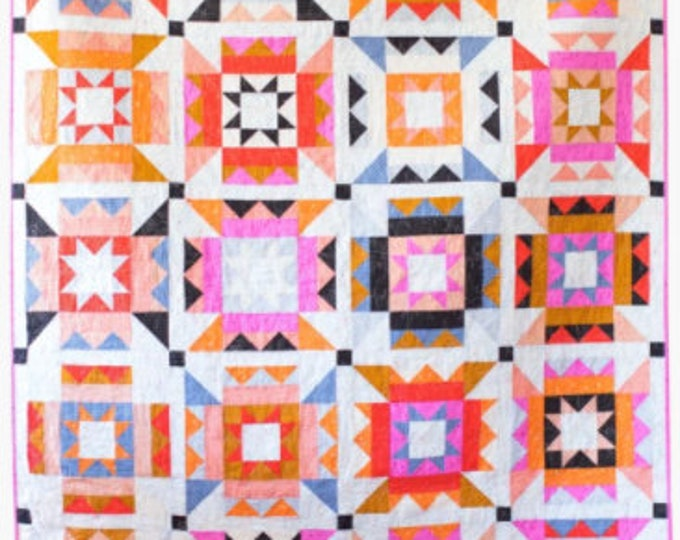 Nova Star Quilt Paper Pattern by Then Came June