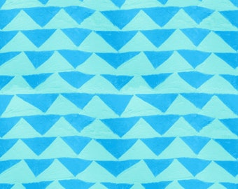 Little Mountain in Blue for the Once Upon a Time Collection for Cotton + Steel