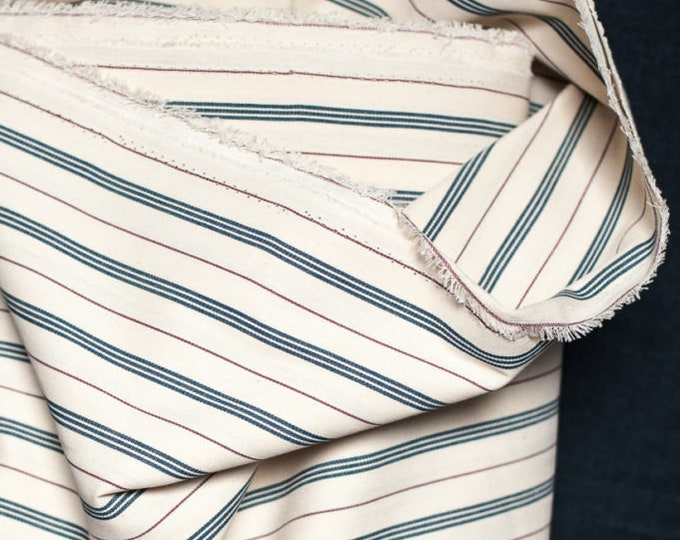 Triple Stripe Ticking Extra Wide Cotton by Merchant & Mills