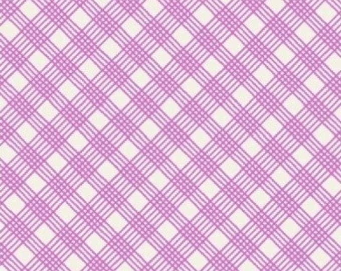 Skinny Plaid in Pink from Penelope by Annabel Wrigley for Windham Fabrics
