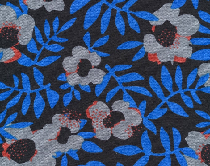 French Terry in Nocturnal Organic Cotton by Cloud 9 Fabrics