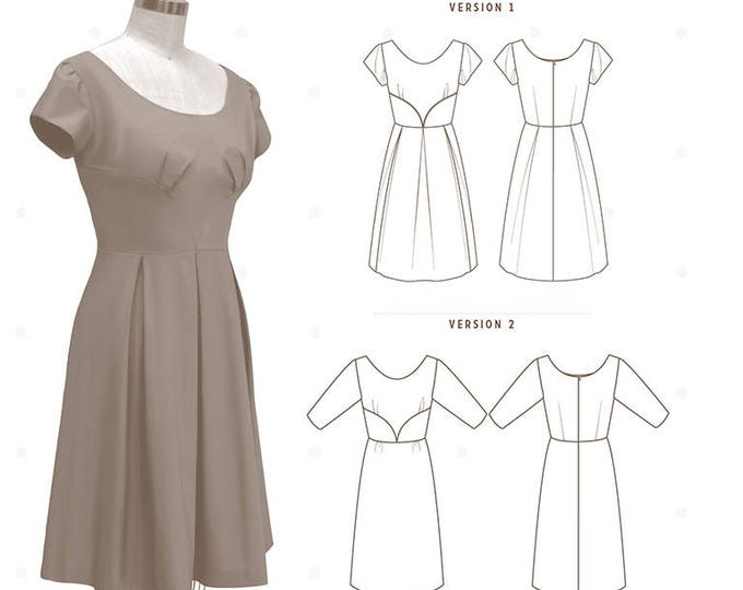Rue Dress Pattern by Collette Patterns