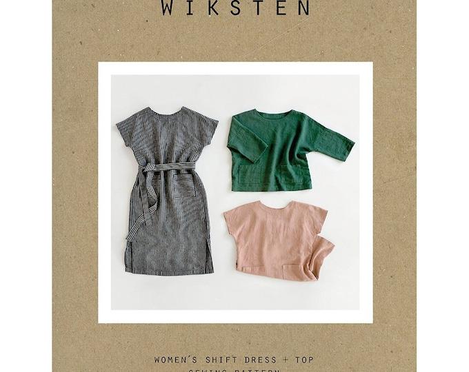 PRESALE: Women's Shift Dress + Top Sewing Pattern by Wiksten