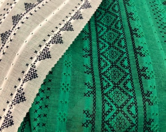 Embroidered Picot Lawn by HOKKOH