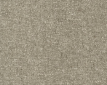 Robert Kaufman Yarn Dyed Essex - Olive - Cotton Fabric