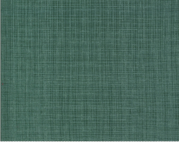 Linen Texture - BRUSHED Cotton in Juniper from the Juniper Collection by Moda Fabrics