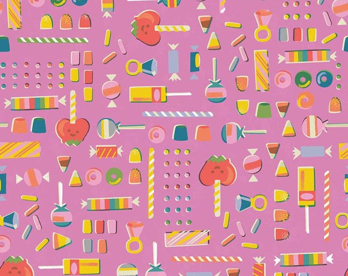 Retro Candy in Pink  from the Tiny Treaters Collection by Riley Blake Designs