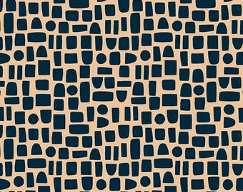 Shapes in Slate from the Perennial Collection by Sarah Golden for Andover