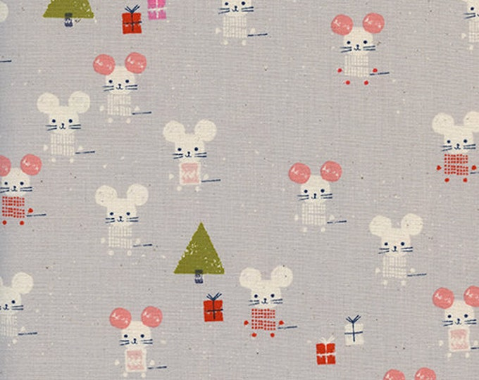 PRESALE: Little Friends in Neutral by Alexia Abegg for Cotton + Steel