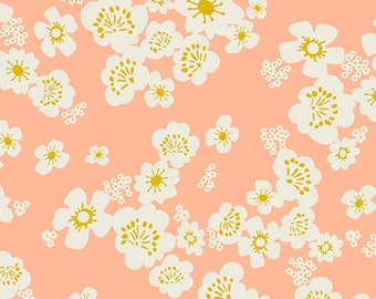 "108"" Wideback Hana in Peach from the Whatnot Collection by Ruby Star Society for Moda Fabrics"