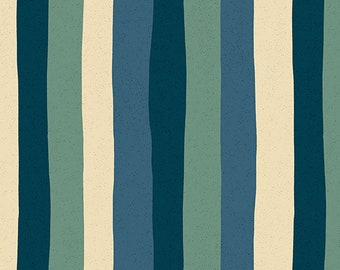 Stripes in Marine from the Perennial Collection by Sarah Golden for Andover