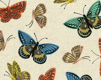 PRESALE: Monarch (Natural CANVAS - METALLIC) from English Garden by Rifle Paper Co.